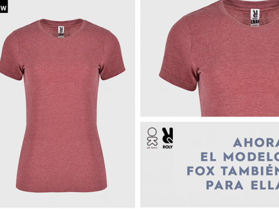 camiseta fox mujer roly