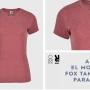 camiseta fox mujer roly